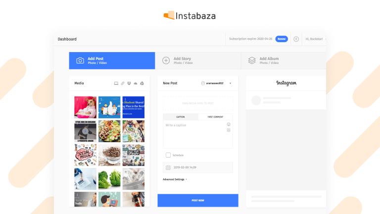 Narzędzia do planowania postów Instagram
