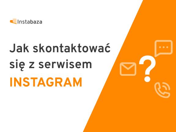 Jak skontaktować się z Instagramem miniaturka
