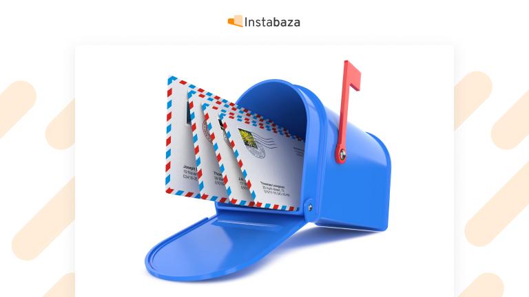 Wysłanie listu do Instagrama