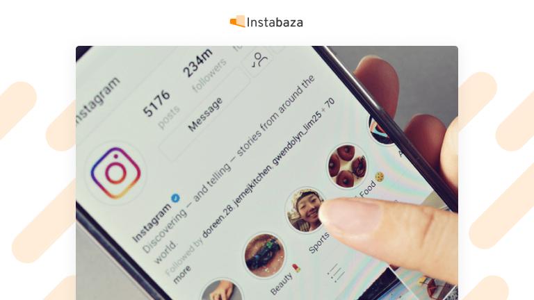 Fajna nazwa na Instagramie