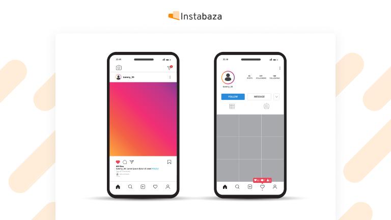 Uzupełnianie profilu na Instagramie