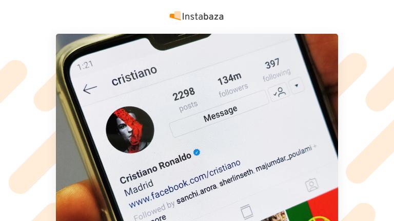 Zweryfikowane konto na Instagramie