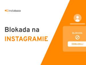Blokada Instagrama