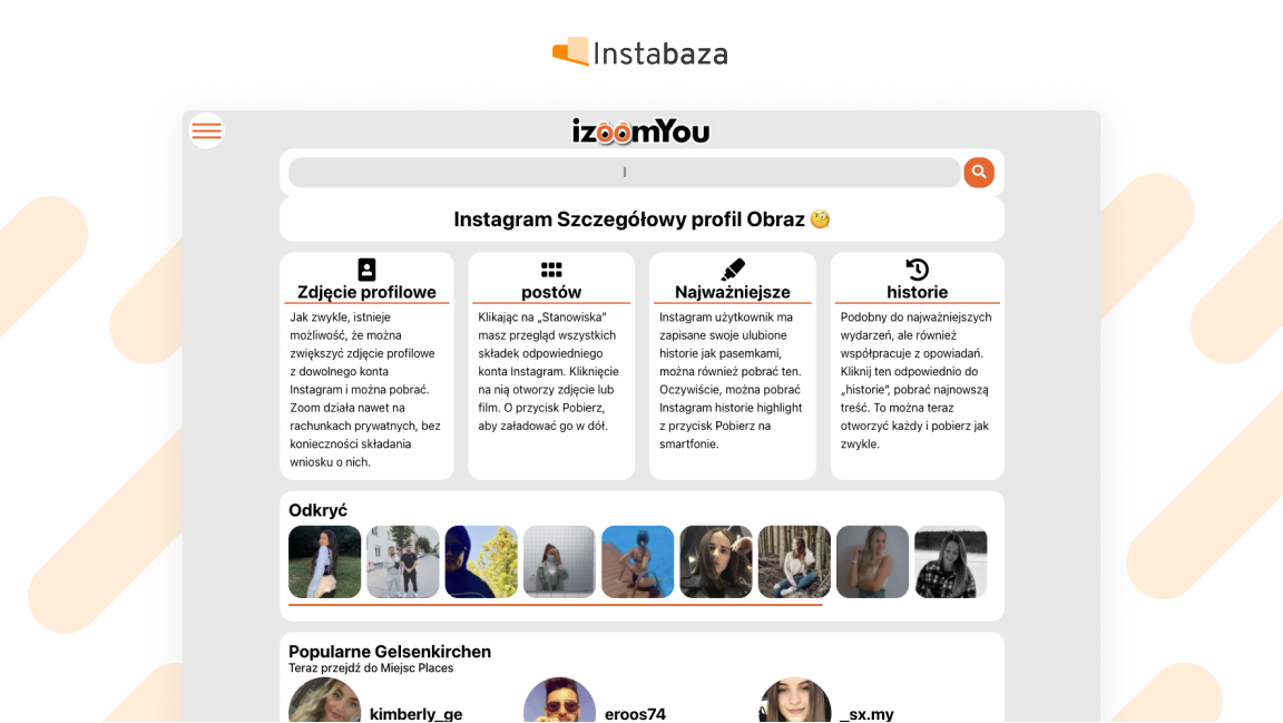 Metoda na powiększenie zdjęcia na Instagramie